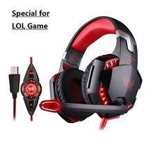 Caliente CADA G2200 USB 7.1 Surround Sound Auriculares Vibración Auriculares Para Juegos de Ordenador Auriculares Diadema Con Micrófono Para PC LOL Juego