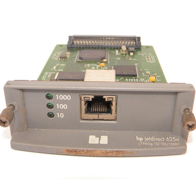PRINTER SERVER FOR HP JETDIRECT 625N J7960G NETWORK CARD IN GOOD WORKING SITUATION(China (Mainland))