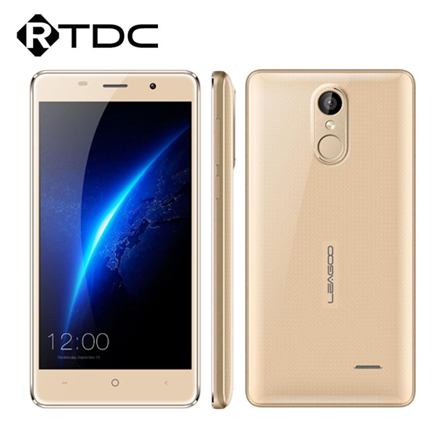 "Original Leagoo M5 3G WCDMA Mobile Phone 5.0"" 1280x720 MT6580A Quad Core Android 6.0 2GB RAM 16GB ROM 8.0MP 2300mAh Fingerprint(China (Mainland))"
