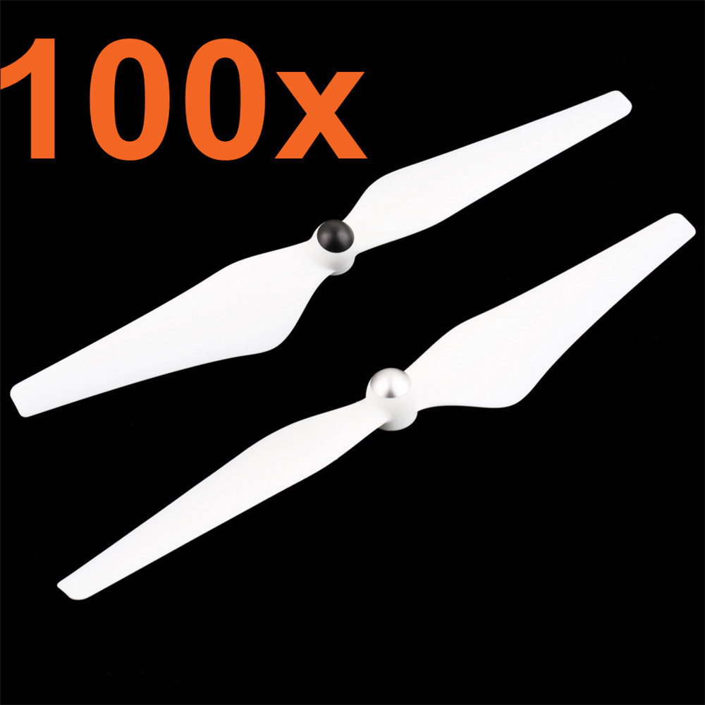 Wholesale 100Pairs 9450 Propeller Self-locking Props CW / CCW For DJI Phantom 2 Vision+E300 White<br><br>Aliexpress