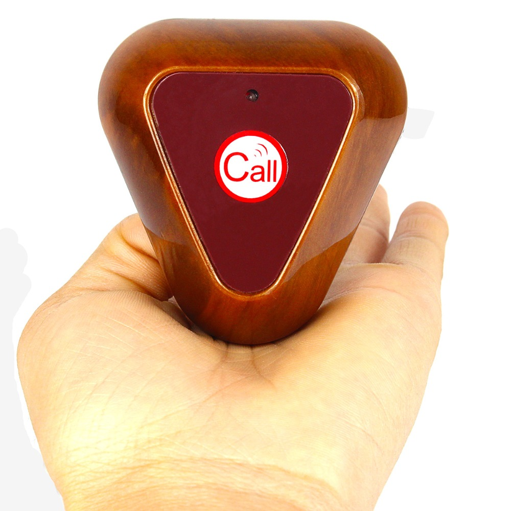 433MHz Wireless Calling Bell Pager Restaurant Call Button Transmitter Waiter Calling System for Restaurant Hotel Calling F4404Y(China (Mainland))