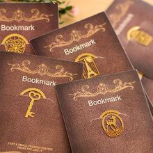 40 PCS/LOT Cute Animal Birdcage Heart Eiffel Tower Book Mark Metal Bookmarks Clips Office Stationery Teacher Gift Kids School(China (Mainland))