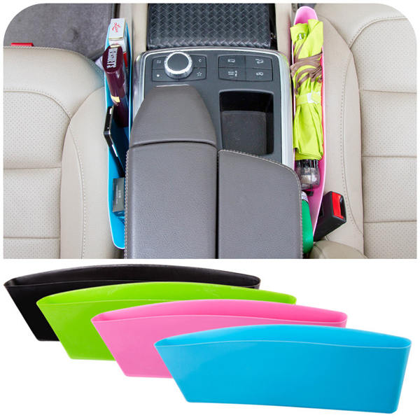 Compressible Car Organizer Cigarette Butt Car Accessories Seat Storage Box Slit Pocket Catcher Waste Containers Stowing Tidying(China (Mainland))