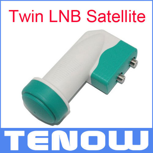 Universal Twin LNB GKF-2132 Satellite KU Band used to feed up to Two Different Receivers(China (Mainland))