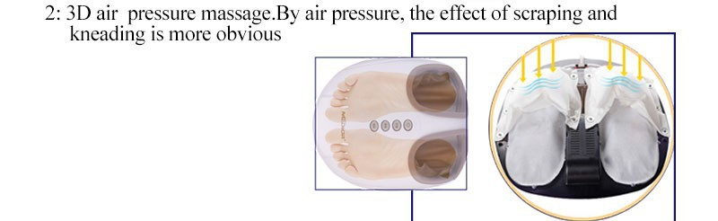 Infrared Deluxe Foot Massager Health Care Roller Masssage Electric Feet Detox Machine As Seen on TV 50020 cheap