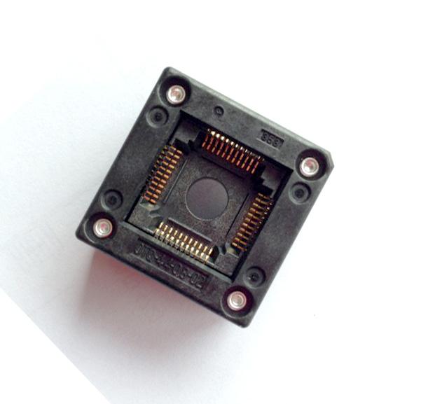 original test bridge burning OTQ - 44-0.8-02 LQFP44 QFP44 IC socket<br>