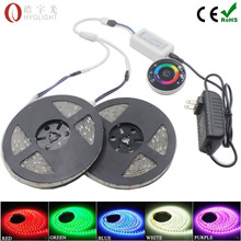 10M IP65 waterproof 5050 rgb strip light SMD 30Leds/M Flexible Led+Wireless RF touch Remote Controller+ 4A Power supply(China (Mainland))