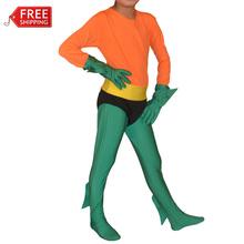 children Aquaman costume kids boys Superhero Justice League cosplay halloween costumes for kids Zentai carnival costume custom
