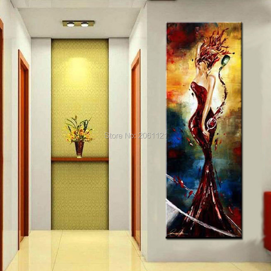 Online buy wholesale canvas art ideas from china canvas for Modern oil painting ideas