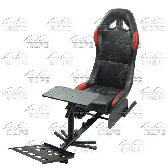 SPECIAL OFFER MOFE Foldable Evolution Cockpit Simulator Play Seat With Support of Steering Wheel + Pedal + Shift Knob Holder(China (Mainland))