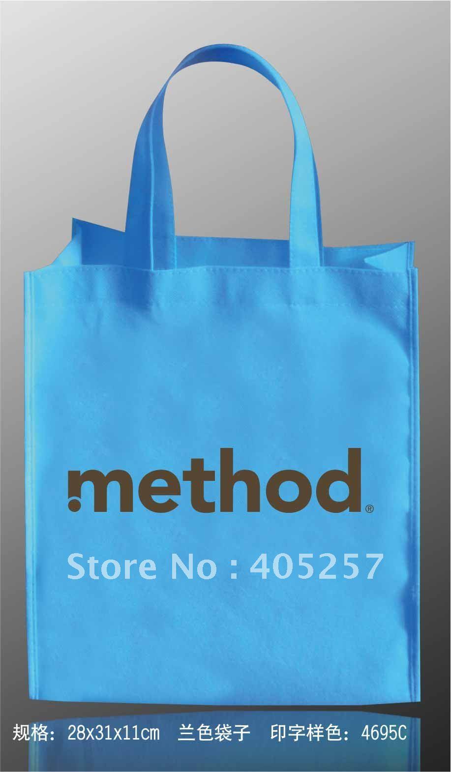 Free shipping Customized Logo Printing gift bag eco friendly Reusable non-woven Shopping bags NO.486<br><br>Aliexpress