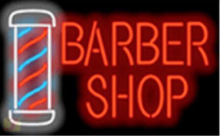 Barber Shop w/ Pole Shop Signboard Neon Sign Commercial Neon Avize Nikke Air Jorrdan Neon Sign Glass Tube Handicraft 17*14(China (Mainland))