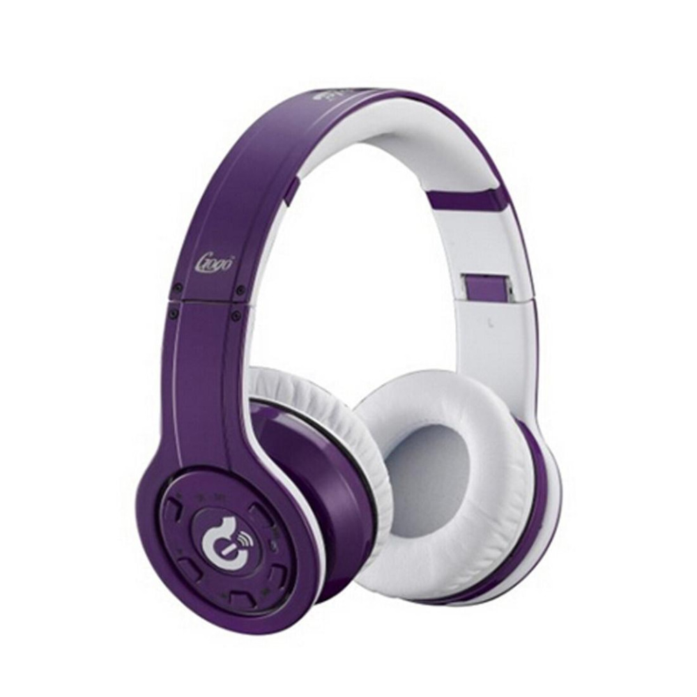 2015 New arrival Wireless Bluetooth Syllable G08 Noise Reduction Cancellation Headphones purple(China (Mainland))