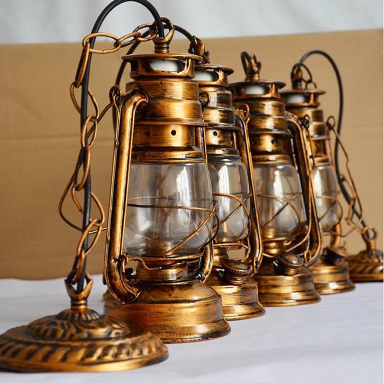 Купить Античная Бронза Цвет Европа Ретро Классический Керосиновый Фонарь Лампы Аварийного Открытый Отдых Лампа Керосиновая Лампа E27 Базы Свет Лампы