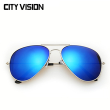 2015 New Aviator Sunglasses Pilot glasses female High Quality Points sun women men shades male Eyewear sun glasses outdoor sport