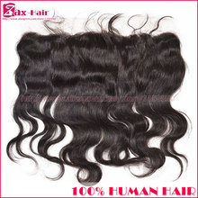 Stocked Peruvian lace frontal 13*4 lace frontals virgin human hair Free/ middle/ 3 part grade 6A natural hairline with baby hair
