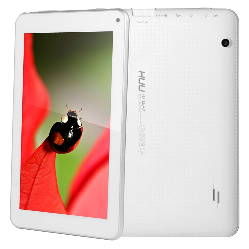 "Original HUU H7 LEAP Cortex A9 RK3188-T Quad Core 1.6GHz 1GB+8GB 8GB 7"" Android OS 4.4.2 Tablet PC, Support WiFi / Bluetooth(China (Mainland))"