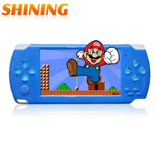 A10 4.3 Inch Screen 8GB Memory Handheld Game MP4 MP5 Player Games Console 10000 Free Games Support Ebook/TV-out/Video Camera(China (Mainland))
