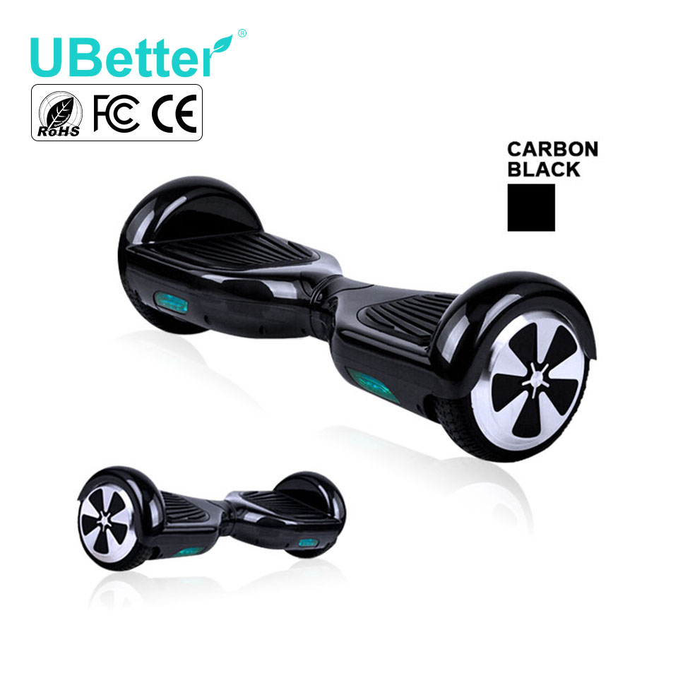 LED Electric Scooter Black 6.5inch Self Balancing Hover Board Original Battery Electric Balance Board UBetter N1-6.5inch(China (Mainland))