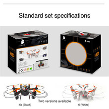 HL Mini RC 6 Axis LCD Display RTF Quadcopter Drone Toy with 200W HD Camera May 16