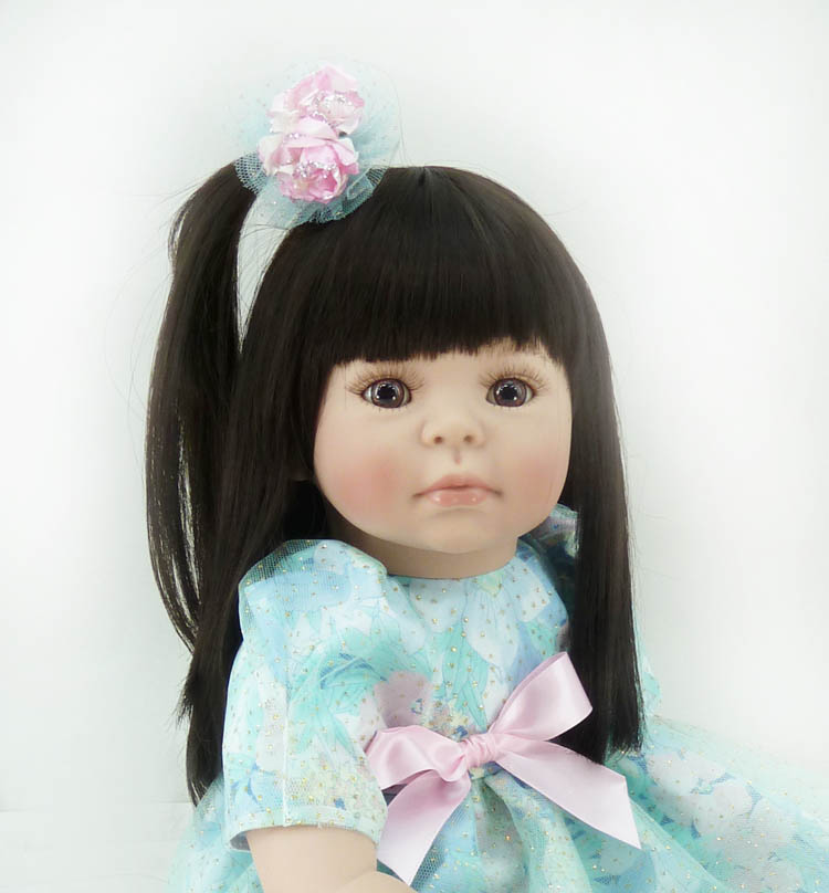 20inch 50-56cm Silicone baby reborn dolls, lifelike doll reborn babies toys for girl princess gift brinquedos Childrens toys!<br><br>Aliexpress