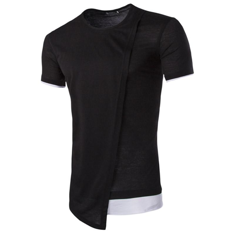 Korean Style Young Boys Roung Collar Slim Short Sleeve T Shirt Men's Tops Casual Tees Shirt New Product(China (Mainland))