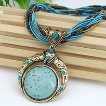 Collier Femme Women Accessories Choker Vintage Statement Necklaces & Pendants Collar Mujer Boho Bohemian Colar Jewelry Bijoux(China (Mainland))