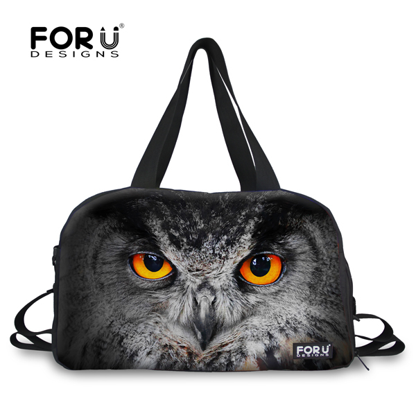 New Arrival 2015 Animal Print Sport Gym Bags For Men Cute 3D Cat