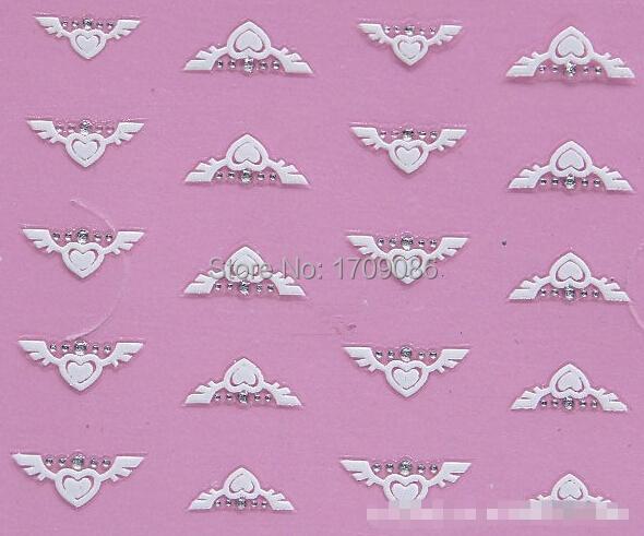 White Angel Wings Love