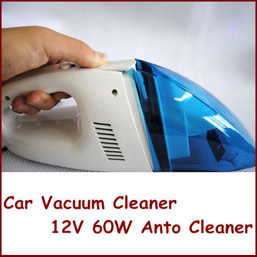 Portable Car Vacuum Cleaner High Power Car Vacuum Cleaner Wet And Dry Anto Cleaner 12V 60W Dust Collecter(China (Mainland))