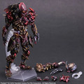 Predator Action Figure Playarts Kai Anime Toy Movie Alien Hunter Play Arts Kai Predator 270mm Collection