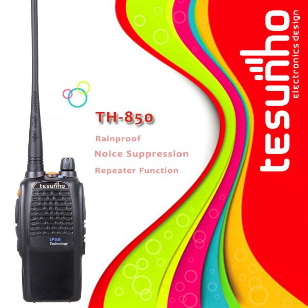 TESUNHO TH-850 high quality handheld professional walkie talkie(China (Mainland))