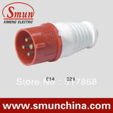 Buy 16A 3p+e 380-415v industrial plug with CE ROHS 1 year warranty european type for $1.20 in AliExpress store