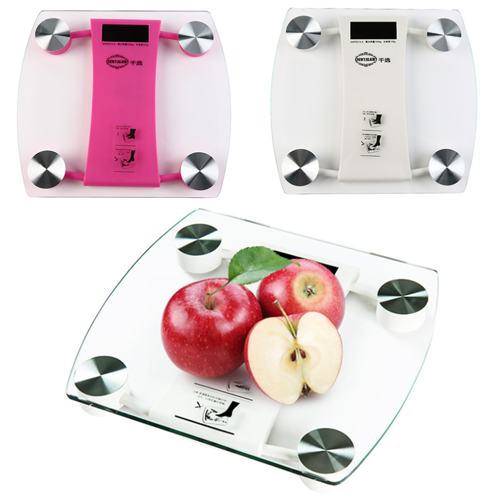 Digital Weight Scale Glass Electronic Body Weighing Scale Voice Announce<br><br>Aliexpress