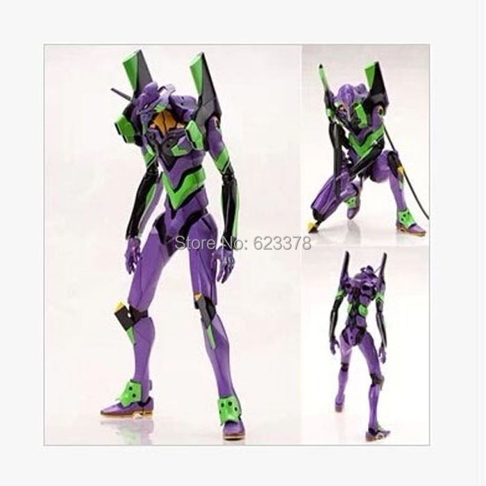 Фигурка героя мультфильма Anime figure Evangelion Revoltech /01 ver. EVA-01 17cm pvc japanese sexy anime figure alphamax super sonico macaron sweet candy ver action figure collectible model toys