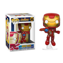 FUNKO POP New Marvel Avengers: Endgame TONY STARK THANOS HULK Action Figure Coleção Modelo Brinquedos para Presente de Natal Das Crianças(China)
