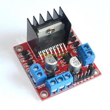 Free Shipping,10pcs/ lot, L298N Dual Bridge DC stepper Controller Control Motor Driver module Board