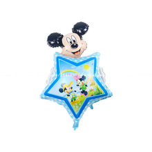 Buy 10pcs 55*85 mickey balloons Minnie Mouse Airwalker Foil Balloon Mickey Mouse balloon minnie mouse&mickey mouse party supplies for $12.00 in AliExpress store