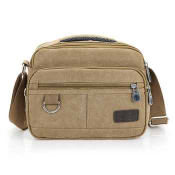 New Men Messenger Bags Casual Multifunction Small Travel Bags Outdoor Canvas Shoulder Hiking Military Crossbody Bags Wholesale