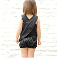 kids clothing 2017 New Y Stars pant set Casual clothes Baby Girls Summer Set Children Clothing