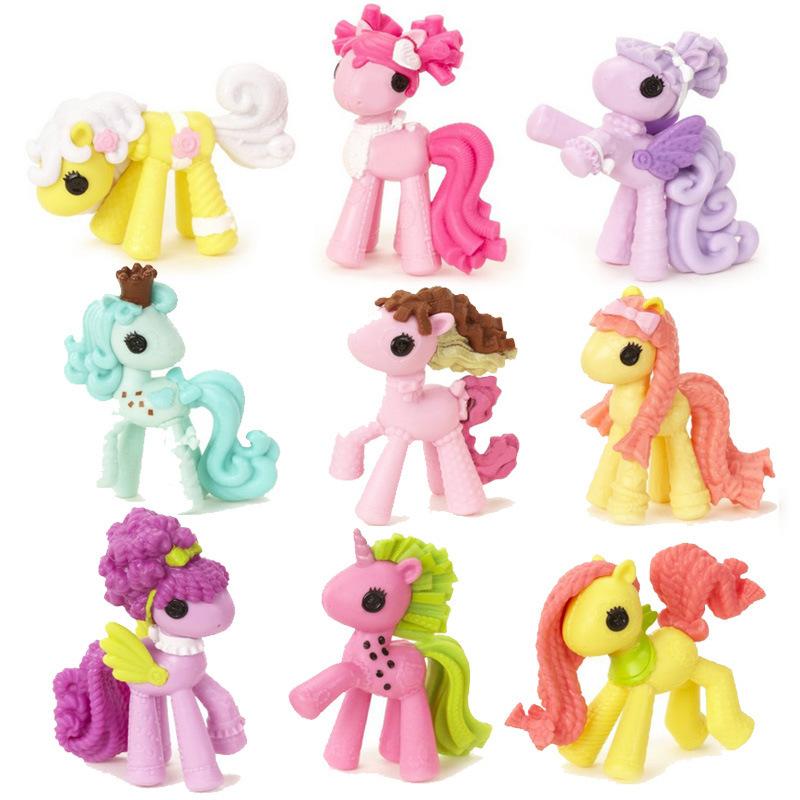 Фигурка героя мультфильма Lalaloopsy 3 boneca 3pcs/set 7 MGA Lalaloopsy Ponies игра lalaloopsy 525493
