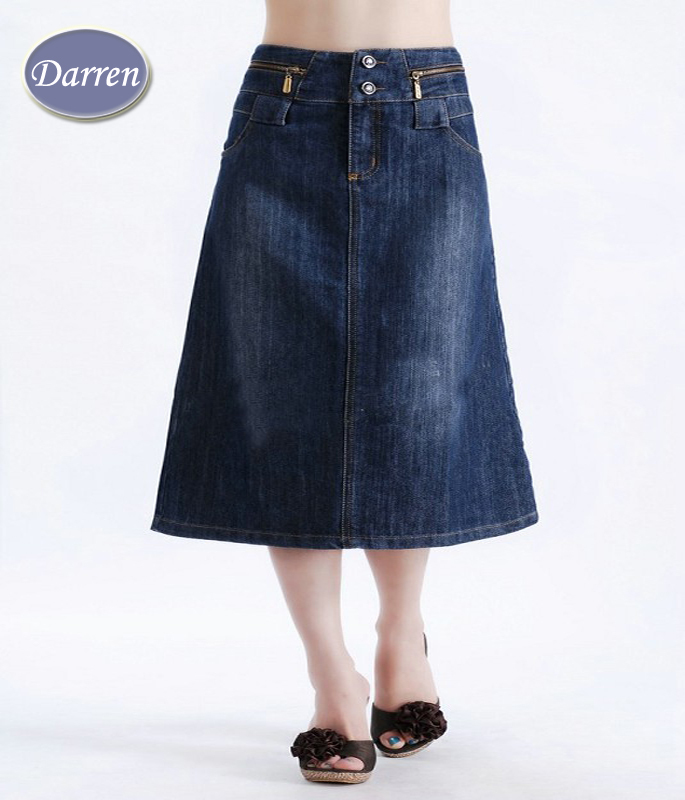 new fashion big size skirt for s mid