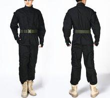 Армейская Тактическая Военная Униформа рубашка + брюки камуфляжная ACU FG Боевая форма США армейская мужская одежда костюм страйкбол охота(China)