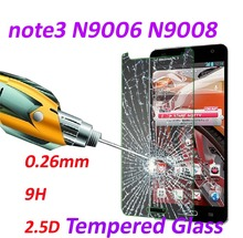 0.26mm Tempered Glass screen protector phone bags 9H Tempered 2.5D Glass cases protective film For Samsung Galaxy note3 N9006