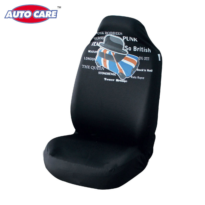 Auto Care 2pcs Sports Style High Back Bucket Car Seat
