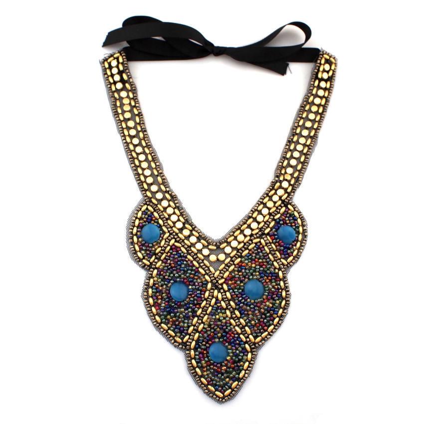 Bohemia Fashion Style Multicolor Candy Beads Collar ...