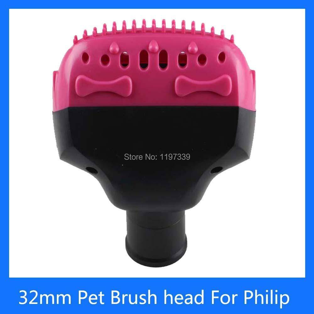 32mm Inner Diameter Pet Brush head Vacuum Cleaner parts for Philips Haier Electrolux LG household brush(China (Mainland))