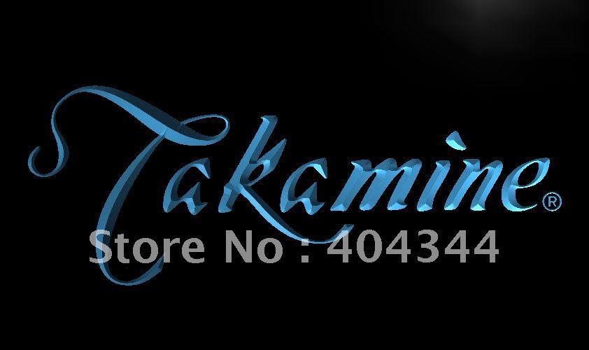 LL197- Takamine Guitar LED Neon Light Sign(China (Mainland))