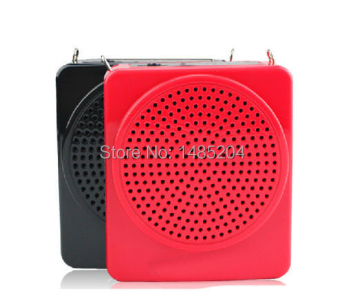 E188 Portable Voice Amplifier PA System 12W Waist-Band Megaphone Microphone LoudSpeaker With Headset Microphone(China (Mainland))