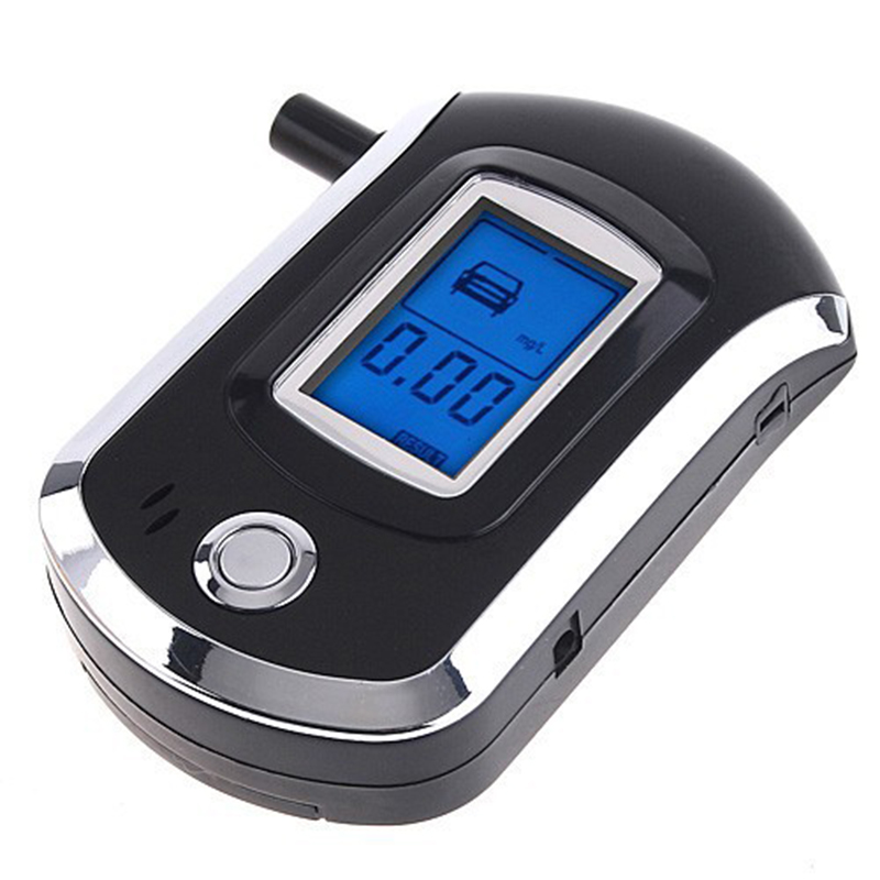 AUTOSON 2017 Alcohol Tester Professional Police Digital Breath Alcohol Tester Breathalyzer AT6000 Car Detector Gadgets Drive(China (Mainland))